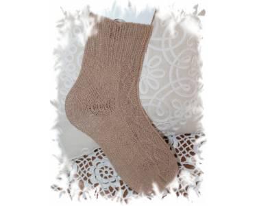 Описание вязания носков из пряжи Ekocamel