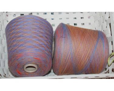 Меринос/альпака Profilo art Stampa Luna, цвет фиолетовый-оранжевый-желтый