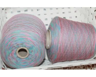 Меринос/альпака Profilo art Stampa Luna, цвет розовый-какао-синий-бирюза