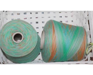 Меринос/альпака Profilo art Stampa Luna, цвет мята-голубой-сирень-коньяк