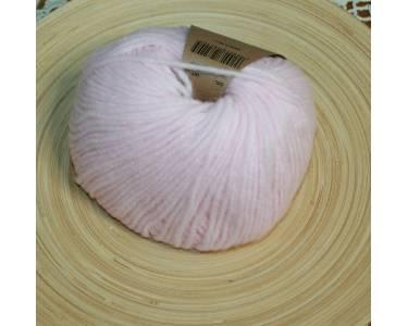 Пряжа альпака в шнурочке Drey, цвет пастельный розовый