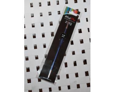 """Крючок Knit Pro Крючок для вязания """"Zing"""" 4, 5мм, алюминий, иолит (фиолетовый)"""