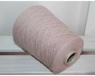 Пряжа Silvedd art Angorina, цвет пастельный кремовый с каплей розового