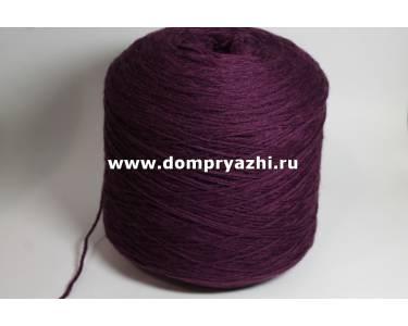 Пряжа 100 % меринос Stefy, цвет густой фиолет (сливовый)
