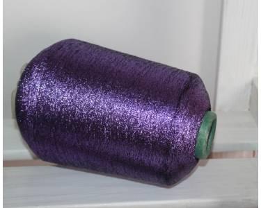 Люрекс, цвет фиолетовый на черном