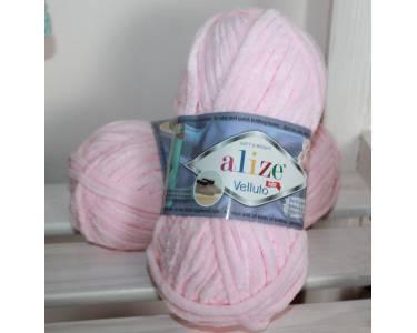 Пряжа Alize art Velutto, цвет розовая пудра