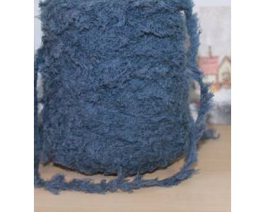 """Пряжа """"Меховая"""" пряжа Linea Piu SPA KNIT ART art Texel, цвет серо-джинсовый"""