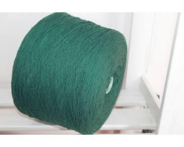 Пряжа бамбук 100 % Silvedd art Bamboo soft, темный малахит (verde)