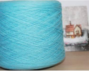 Пряжа Хлопок 100% Emilcotoni, цвет голубая бирюза (562)