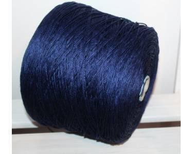 Пряжа лён 100 % Millefili art Lino, цвет темный синий сочный