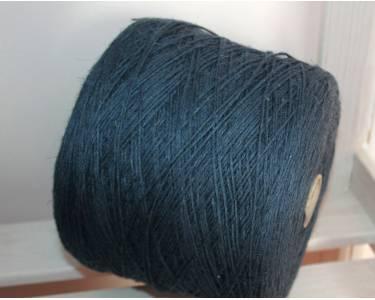 Пряжа лён 100 % Millefili art Lino, цвет темный серо-синий (однотон 22)