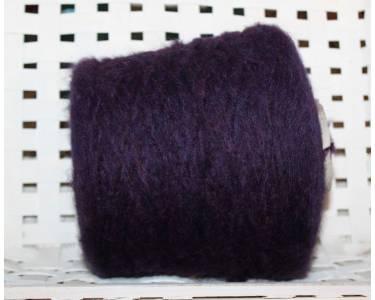 Пряжа с альпакой Pecci Filati art Fiocco, цвет фиолет с переливами бордо и бирюзы