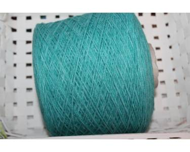 Пряжа-шнурочек с альпакой Profilo art Sally, цвет морская волна меланж
