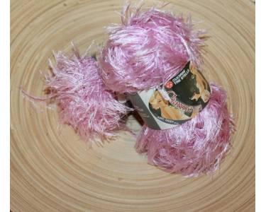 Пряжа травка Charme, цвет розовый