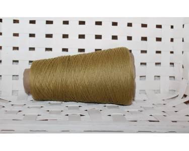 Меринос 100%, гребенной СМОТКА в 6 нитей art Harmony Woolmar, цвет оливково-горчичный(однотон)14