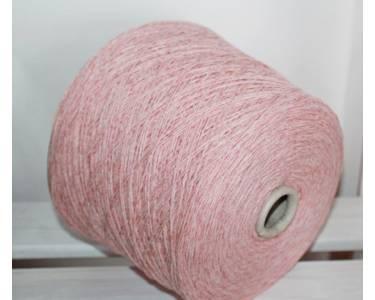 Пряжа шерсть/пл Silvedd art Sock, цвет розовый-персик меланж