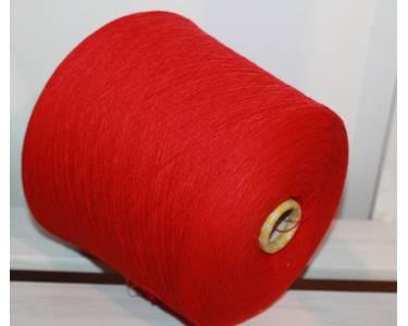 Пряжа меринос гребенной 100 % Lana Gatto art Free, цвет красный