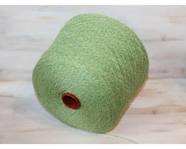 Пряжа 100 % меринос  MUST MOULINE зеленый