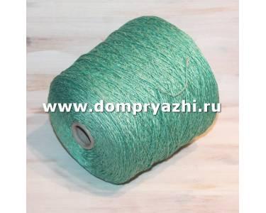 Пряжа NUOVO шелк/акрил, цвет зеленая мята