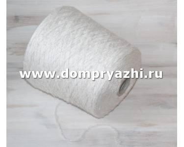 Пряжа Silk Tweed шелк/вискоза, цвет молочный-крем/6589/