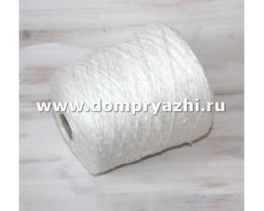 Пряжа Silk Tweed шелк/вискоза , цвет молочный-белый/СК/