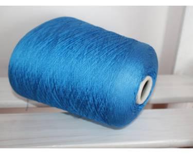 Шелк 100%, плетение тратта ORGANZINO CREPE, цвет васильковый