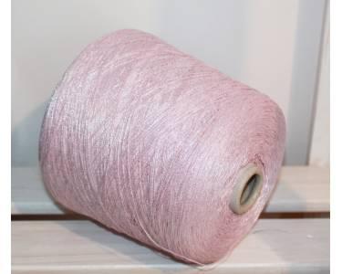 Хлопок 70 %/люрекс 30% Millefili art Adelanteadelante, цвет розовый-серебро